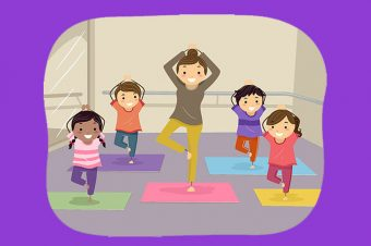 kids yoga sravanthi